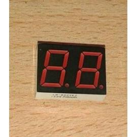 7seg 19*25 - 2 digit RED K Multiplex