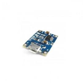 شارژر TP4056 با ورودی Micro USB مناسب باتری های لیتیومی