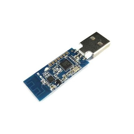 ماژول ترنسیور NRF24L01P + PA + LNA با رابط USB