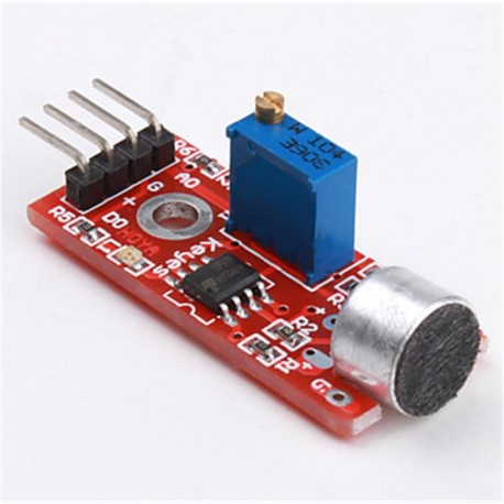 میکروفن آردوینو KY-037 Microphone Sensor - Sound Detection Module for Arduino