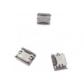 کانکتور Micro USB مادگی 5pin با دو هولدر سطحی