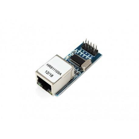 ماژول شبکه ENC28J60 مدل مینی