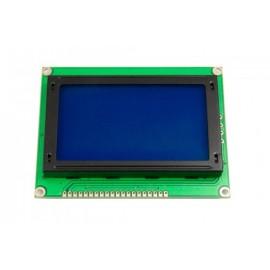 نمایشگر گرافیکی 64*128 رنگ آبی کانکتور از بالا