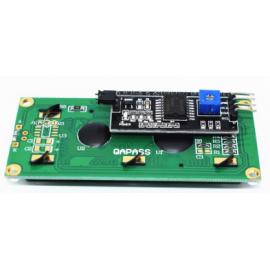 ماژول درایور به همراه LCD آبی - رابط سریال IIC I2C ال سی دی های 2x16