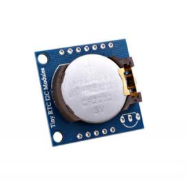 ماژول ساعت DS1307 به همراه حافظه همراه با باطری