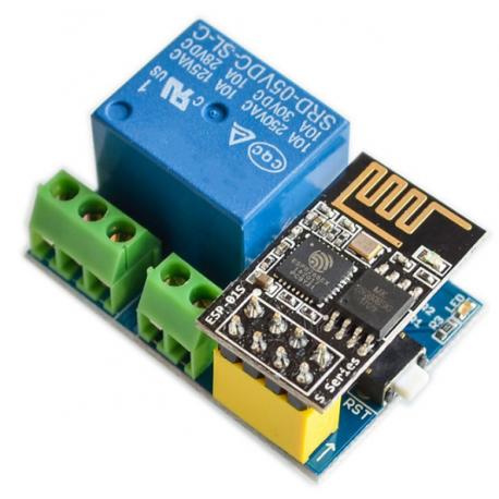 ماژول سنسور رطوبت و دما DHT11 با قابلیت مانیتورینگ وایفای ESP01 ( هسته ESP8266 )