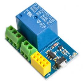 ماژول رله با قابلیت اتصال به وایفای ESP01 ( بدون وای فای)