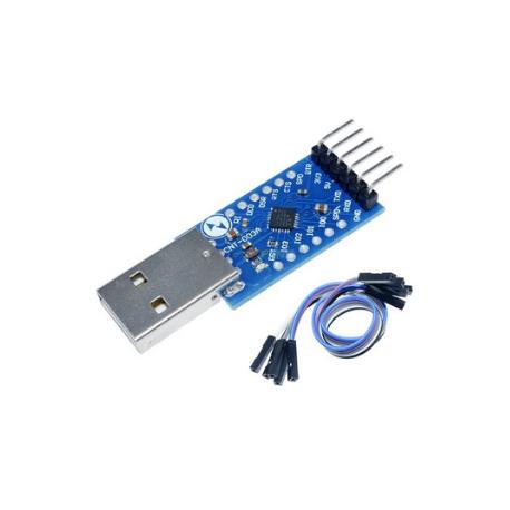 ماژول مبدل USB به TTL با تراشه CP2104