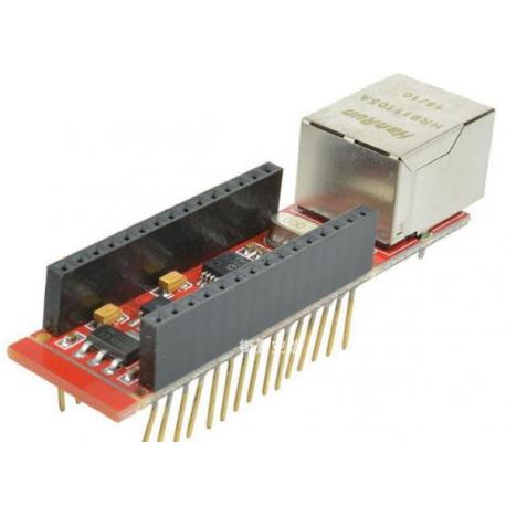 ماژول شد شبکه Nano ENC28J60 Ethermet shield V1.0