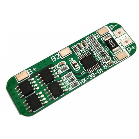 ماژول محافظ شارژ باتری لیتیومی 3 سل 6A به 4 آی سی MOS
