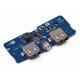ماژول ساخت پاوربانک دارای دو خروجی 5V 1A , 2.1A USB