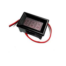 نمایشگر ولتاژ 0.36 اینچ با قاب - رنگ نور سبز